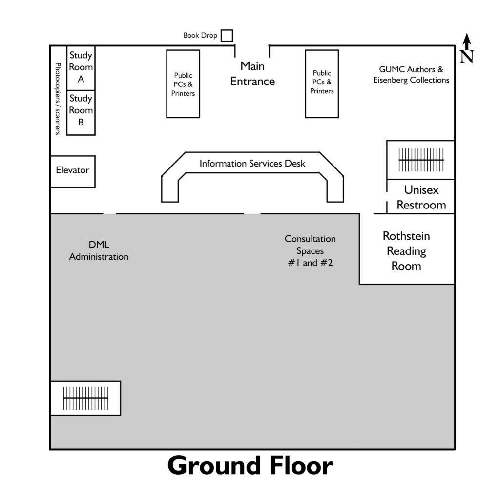 Map of Ground Floor
